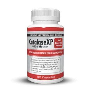 Stop Grey Hair, Reverse Gray Hair, Look Younger, Gray Hair Vitamins, No Gray Hairs- Catalase XP, 60c 30 Day Supply!!!,$23.95