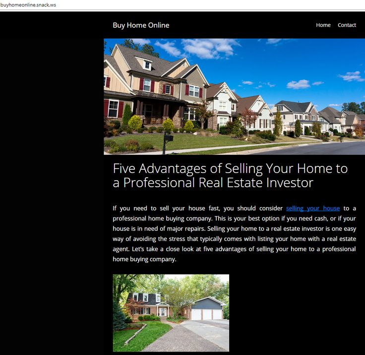 Five Advantages of Selling Your Home to a Professional Real Estate Investor  If you need to sell your house fast, you should consider selling your house to a professional home buying company. A professional real estate investor does not have any stipulations when it comes to buying homes.