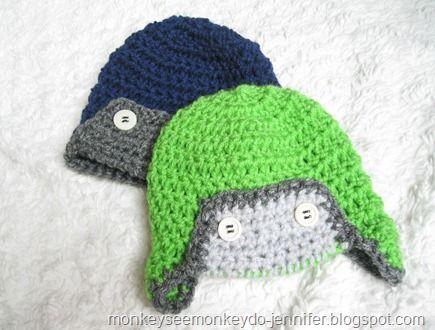 Baby Aviator Hat Knitting Pattern Free : BABY AVIATOR HAT FREE KNITTING PATTERN   KNITTING PATTERN