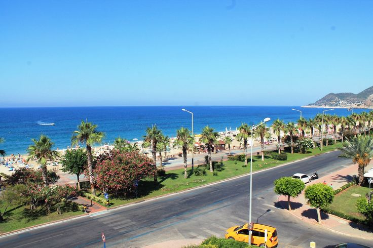 View from my hotel.  #Alanya #2015 #Vacation