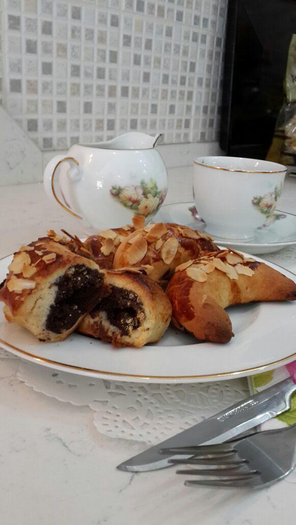 Pastane Usulü Ay Çöreği   Cahide Sultan بسم الله الرحمن الرحيم