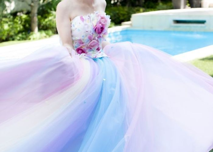 女の子の夢が詰まった魔法のドレス♡『THE HANY』のカラードレスに感動!のトップ画像