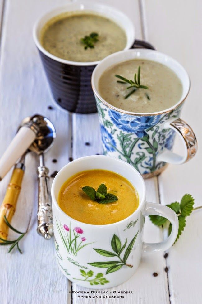 Apron and Sneakers - Cooking & Traveling in Italy and Beyond: 3 Detox Soups to Have on the Days You Want to Feel Light