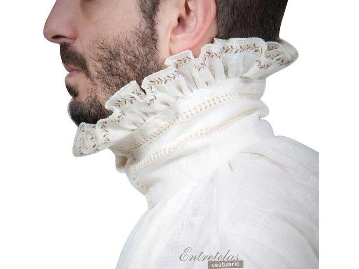 Camisa 1567 : Siglo XVI : Renacimiento - Siglo de Oro : Entretelas Vestuario : Confección de trajes a medida, de época, vestimenta histórica...