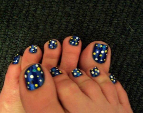 800 best toe nail polishing images on pinterest nail art polka dot toe nail art prinsesfo Image collections