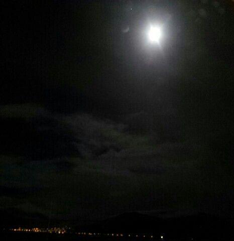 Natt på Sunnmøre.