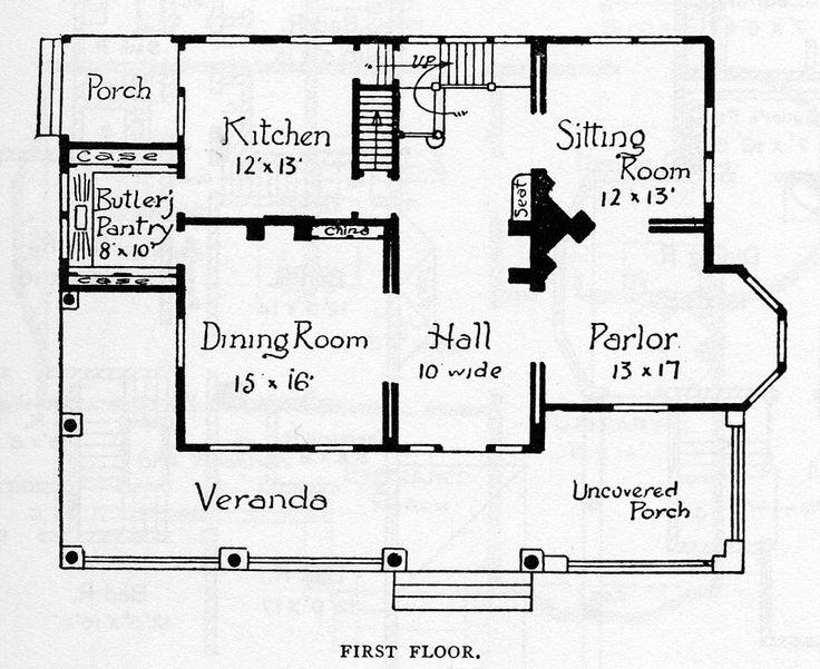 66 best folk victorian images on pinterest folk for Folk victorian house plans
