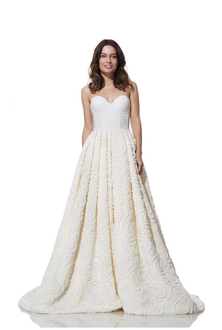 Wedding Dress From The Olia Zavozina Fall 2016 Collection