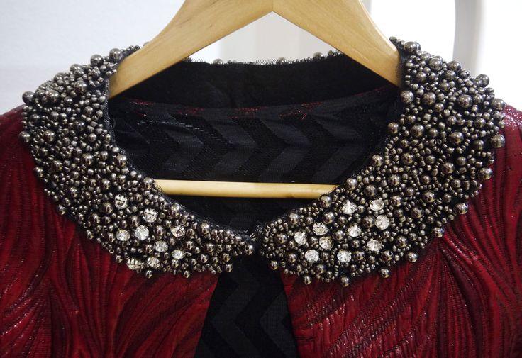 Collar & coat from Nassos Ntotsikas Fall/Winter 2015-16 collection. @nassosntotsikas