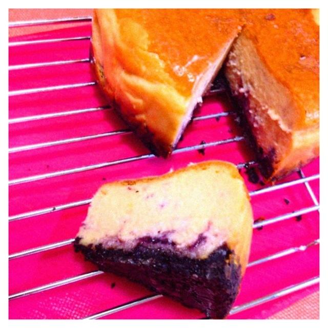 Blueberry cheesecake☆