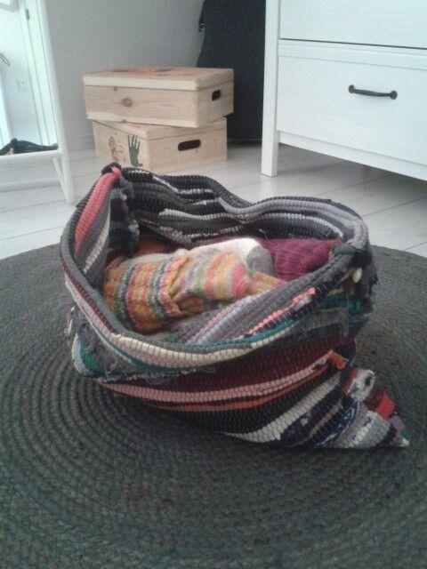 Räsymatosta koppa #rug #carpet