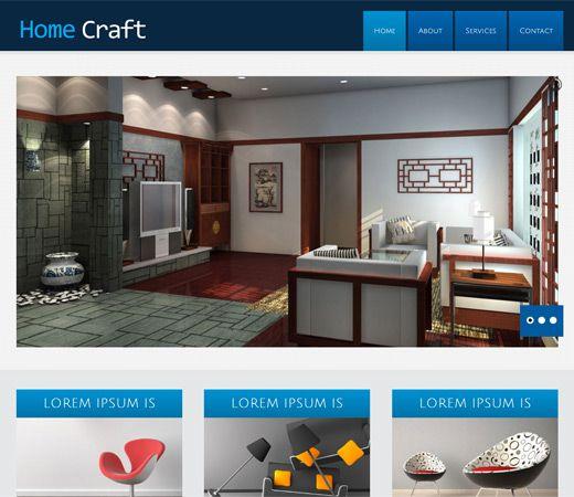 Home Craft Free Responsive HTML5 CSS3 Mobileweb Template