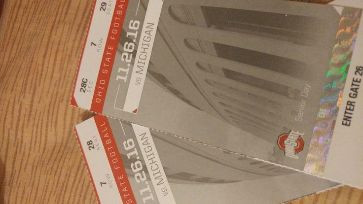 The Game: Michigan vs. Ohio State Tickets  #OhioStateBuckeyes