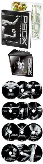 P90X® es el revolucionario sistema de 12 rutinas de ejercicios que definen los músculos y te ponen a sudar, diseñado para transformar tu cuerpo normal a uno definido en sólo 90 días. También recibirás un completo plan de nutrición de 3 fases, una detallada guía de entrenamiento, un calendario para seguir tu progreso, soporte en línea de tus compañeros y mucho más. Tu entrenador personal, Tony Horton, te mantendrá concentrado y motivado a cada paso ¡y los resultados te parecerán increíbles!