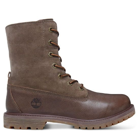 Women's Authentics Suede Roll-Top Boots | Timberland