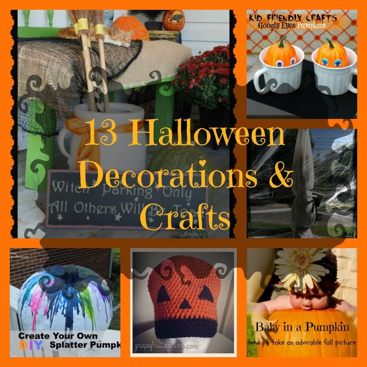 64 best Holiday Crafts images on Pinterest Holiday crafts - halloween decorations to make on your own