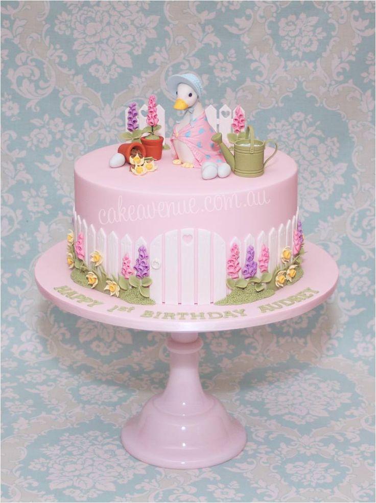 Jemima Puddle Duck Wedding Cake