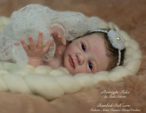 Reborn girl*Prototype Felix by Linde Scherer*  - *BamboleDelCuore*    eBay