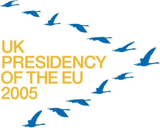 UK presidency (2005 H2) - Logo (by johnson banks)