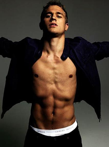 Charlie Hunnam - I am partial to the tattoos, facial hair and cigs.......but I am NOT complaining!