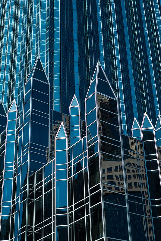 "Architect Philip Johnson's ""Glass Cathedral"" Pittsburgh, PA #fc3arch"