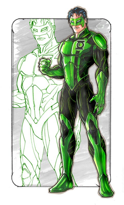 Kyle Rayner- Green Lantern Corps
