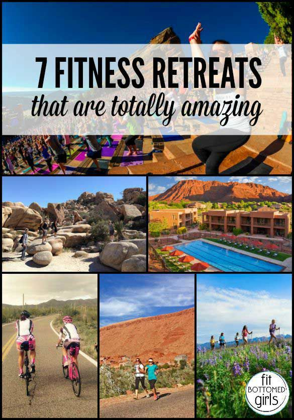 These seven fit retreats make us want to book a flight yesterday. | Fit Bottomed Girls