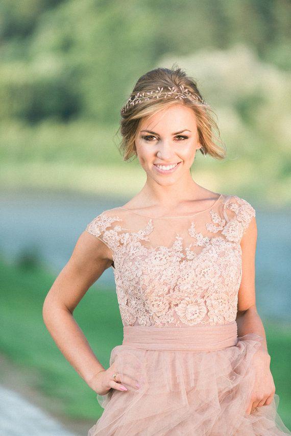 Wedding headband Wedding Hair Piece Bridal Headband Bridal