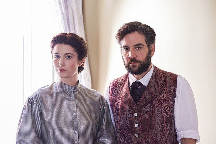 FIRST LOOK: Mary Elizabeth Winstead as Nurse Mary Phinney and Josh Radnor as Jedediah Foster in the new PBS drama series, MERCY STREET. Click to see the full cast. #MercyStreetPBS