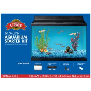 Grreat Choice™ 20 Gallon Aquarium Starter Kit PetSmart