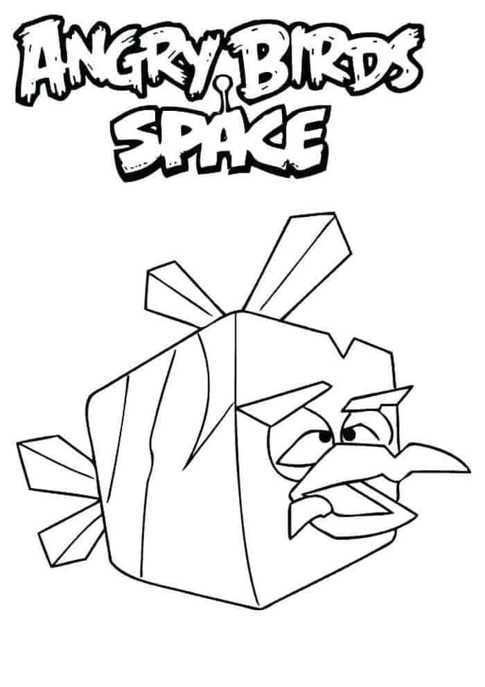 Angry Birds Space Ice Bird Coloring Pages Bird Coloring Pages Space Coloring Pages Coloring Pages