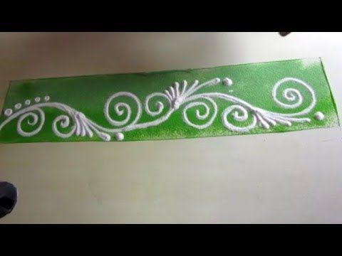how to make new simple & easy border rangoli rangoli design rangoli rangoli…