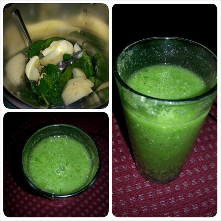 My first green smoothie:  http://livinginbshoes.blogspot.pt/2014/01/o-primeiro-batido-verde.html