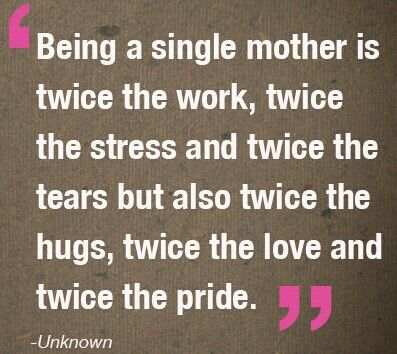 my life of single motherhood essay A mother's love essay contest my plan for my journey to motherhood would have been a little different than god's plan for me  my life is so much richer.