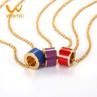 Ожерелья и подвески розового золота мода аксессуары природный ожерелье из кожи цепи рождественские подарки