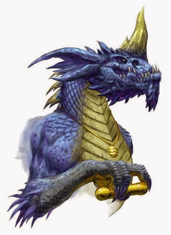 Blue Dragon Dd: Dungeons And Dragons Art, Dragon