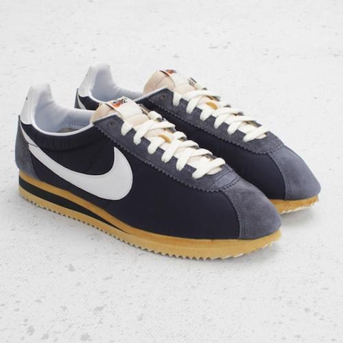 quality design b78db fca77 Nike Cortez Nylon Midnight Navy-white gatwick-airport ...