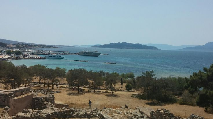 View from Aphaia Temple on Aegina Island