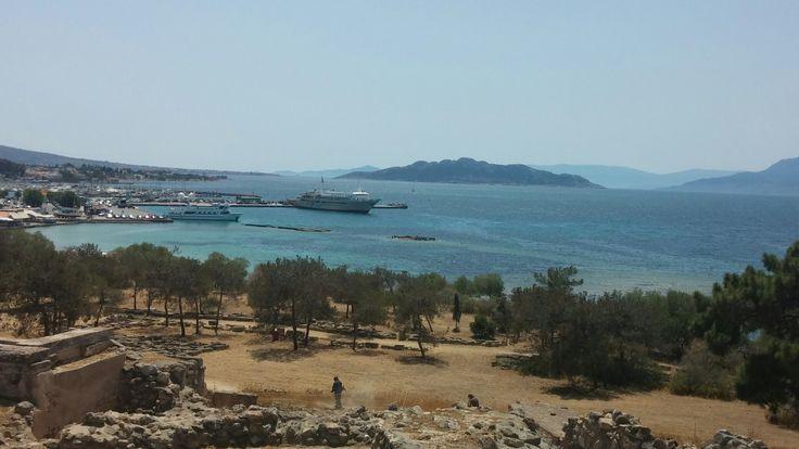 View from Apollo's temple in Aegina