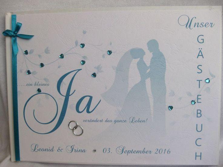 """Gästebuch  Fotoalbum Hochzeit """"Brautpaar"""" Hochzeitsdeko, Hochzeitsgeschenk"""