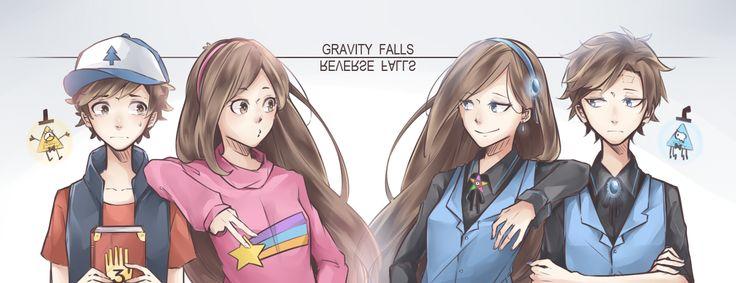 ◆05AC◆~ Gravity Falls and Reverse Falls