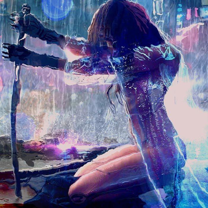 Cyberpunk Girl Wallpaper Engine