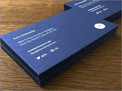 Dan Edwards Business Card #businesscard