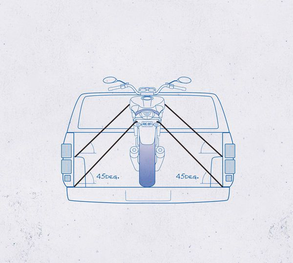 Although you would most likely rather ride your motorcycle than transport it using the truck bed or trailer, sometimes trailering just has to happen. Here's a guide on how to properly tie down and transport your motorcycle.