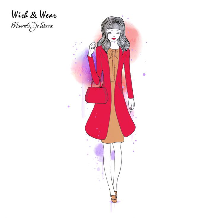 WISH & WEAR #49: French Connection's red coat and Fornarina's Caroline dress