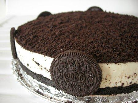 """Me Encanta el Chocolate: RECETA: """"Tarta Oreo sin horno"""" http://www.meencantaelchocolate.com/2014/05/receta-tarta-oreo-sin-horno.html"""