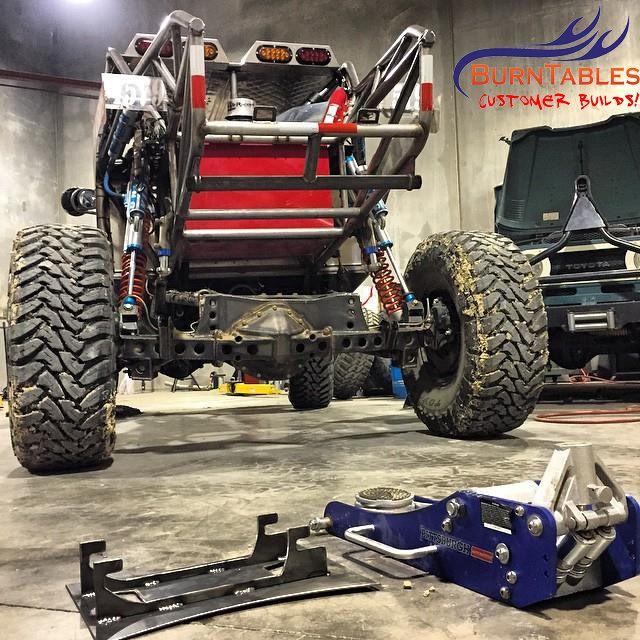 Floor Jack Mount For Racing Desert Truck Race Truck