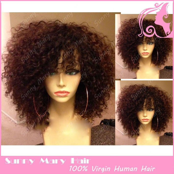 Find More Wigs Information about Freeshipping 200 density Front Lace wigs/Full lace wigs Brazilian Virgin human hair with baby hair around for black women,High Quality Wigs from Sunny Grace Hair Product Company02 on Aliexpress.com