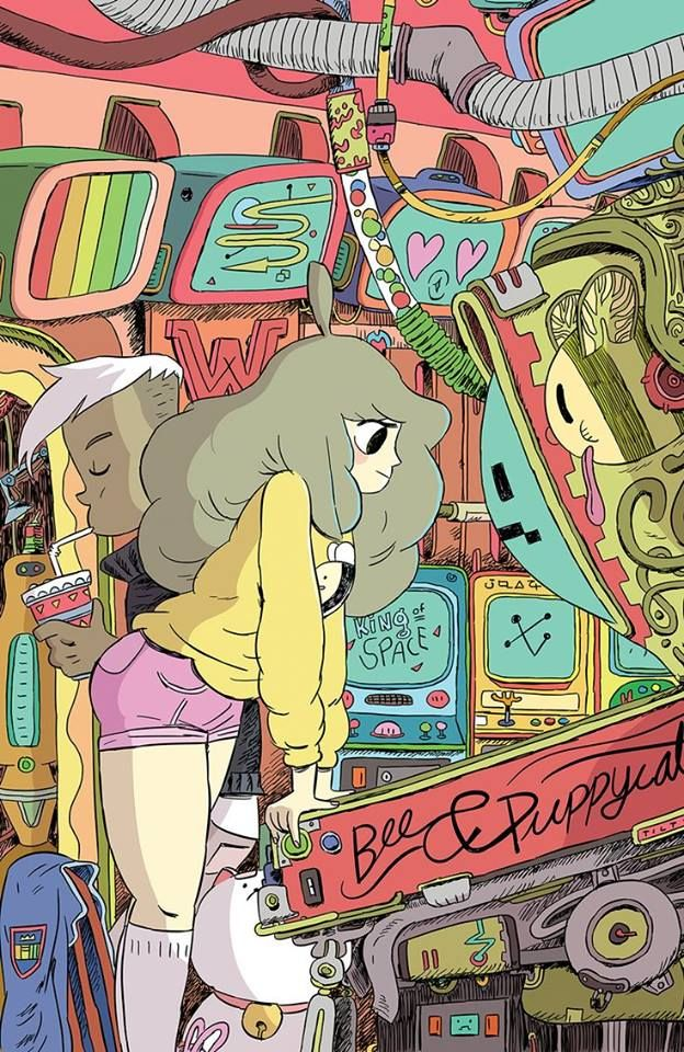 """Bee and Puppycat"" by Zac Gorman* • Blog/Website 