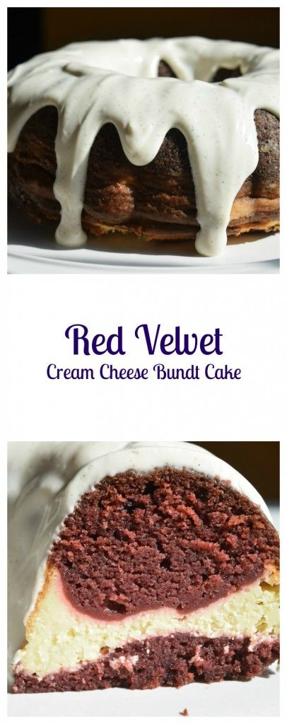 Red Velvet Cream Cheese Bundt Cake is easy, but looks fancy and isn't just for Valentine's Day! | Beer Girl Cooks